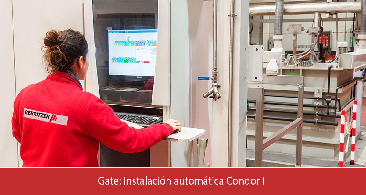 Gate instalación automática Condor I
