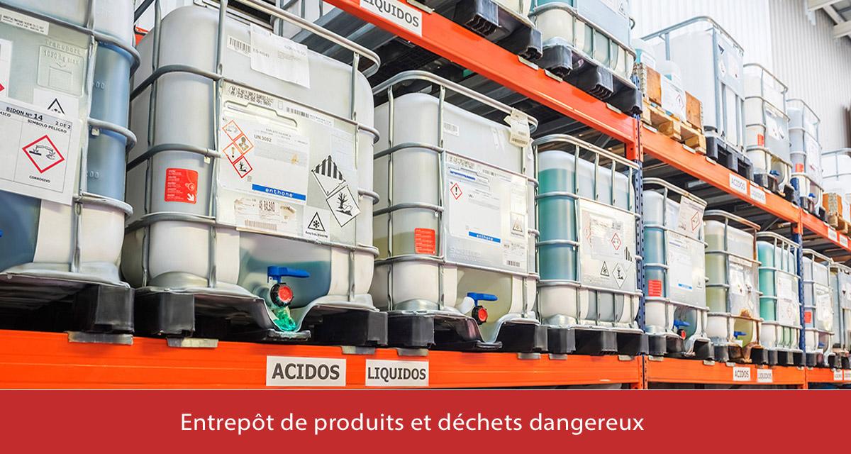 Almacen de productos yresiduos peligrosos